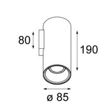Lotis tubed modular studio spot spot light  modular 10883889  design signed 34497 thumb