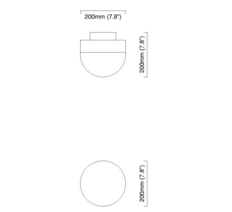 Lucid 200  applique murale wall light  cto lighting cto 01 111 0101  design signed nedgis 63972 product