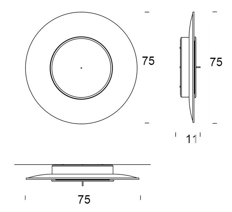 Lunaire ferreol babin fontanaarte 4246rmn luminaire lighting design signed 15173 product