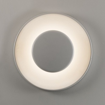 Applique murale lunanera blanc led o40cm hcm martinelli luce normal