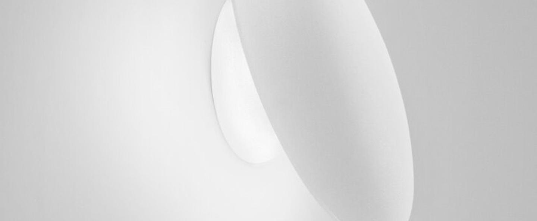 Applique murale madison w1 blanc led o25cm p9 5cm light point normal
