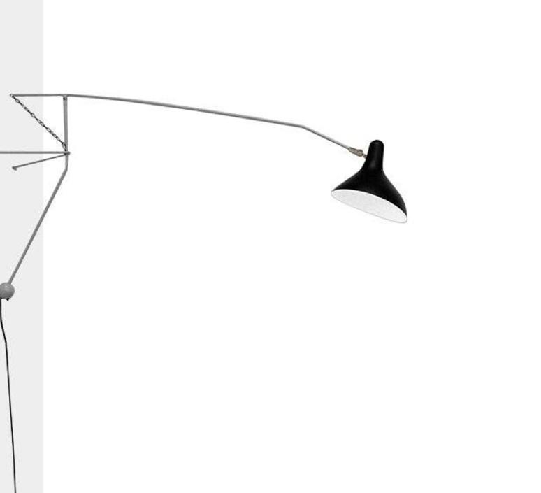 Mantis bs2 bernard schottlander  applique murale wall light  dcw editions bs2 gr bl  design signed nedgis 65424 product
