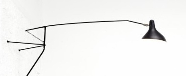 Applique murale mantis bs2 noir l153cm h68cm dcw editions normal