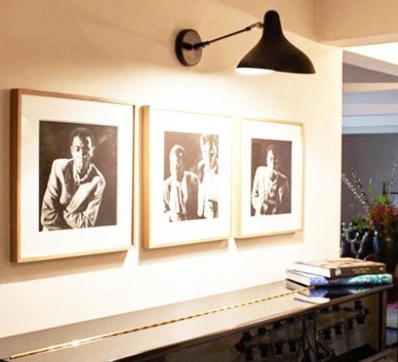 Mantis bs5 bernard schottlander  applique murale wall light  dcw editions bs5 bl  design signed nedgis 65460 product