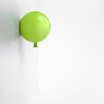 Applique murale memory glossy vert pomme o40cm brokis normal