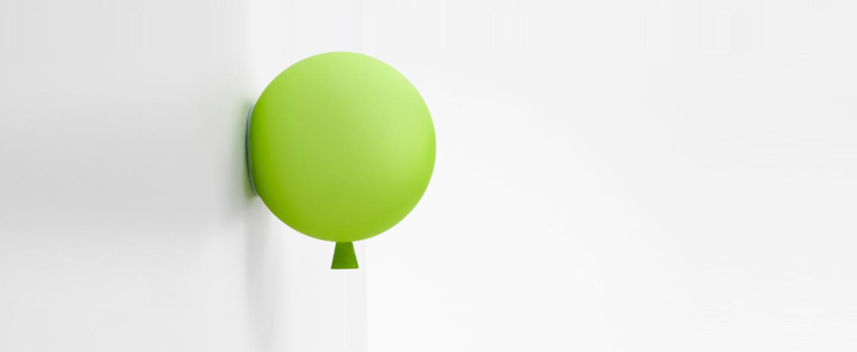 Applique murale memory mat vert o25cm brokis normal