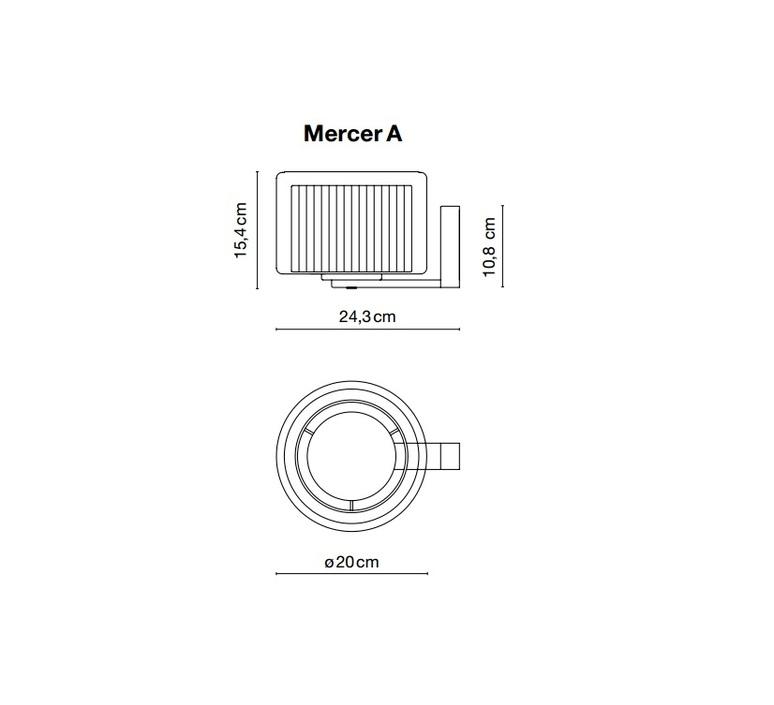 Mercer joan gaspar marset a89 050 luminaire lighting design signed 14113 product