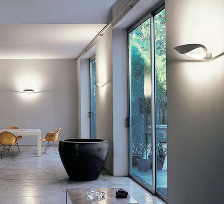 Mesmeri eric sole applique murale wall light  artemide 0918w30a  design signed 61105 product