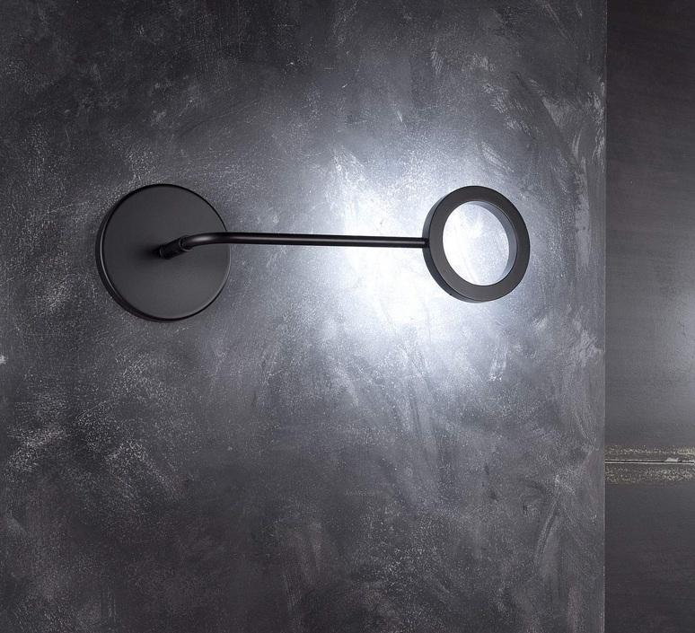 Meta franco zavarise zava meta applique black 9005 luminaire lighting design signed 17494 product