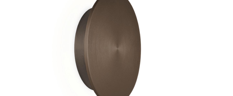 Applique murale miles 2 0 bronze led o19cm h3 7cm wever ducre normal