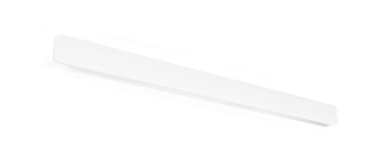 Applique murale miles 9 0 blanc led 3000 1600 l90cm h8cm wever ducre normal