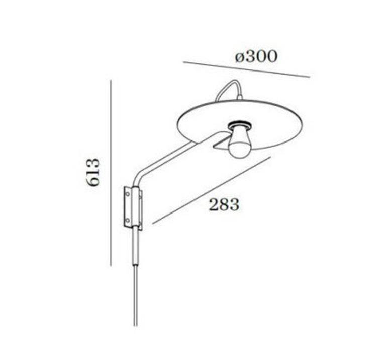 Mirro extended 1 0 13 9 design applique murale wall light  wever et ducre 6331e8gb0  design signed nedgis 67385 product