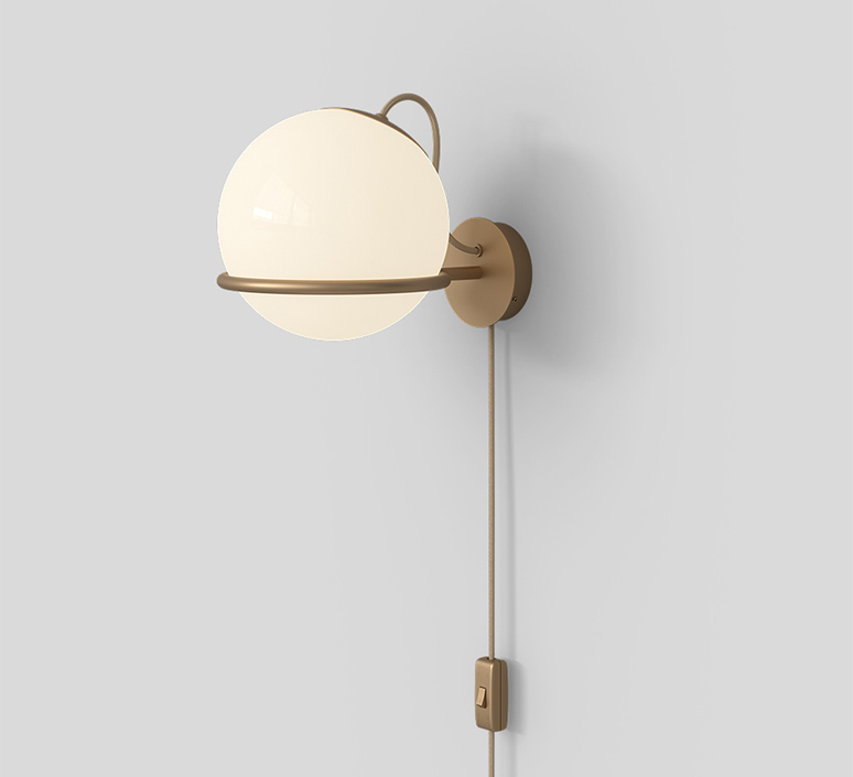 Model 238 1 gino sarfatti applique murale wall light  astep t08 w2s m1d0  design signed nedgis 100870 product