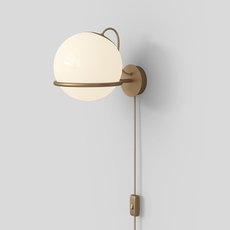 Model 238 1 gino sarfatti applique murale wall light  astep t08 w2s m1d0  design signed nedgis 100870 thumb