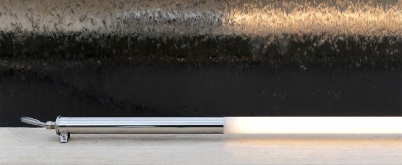 Applique murale mondrian dimmable gris led o4cm h100cm sammode normal