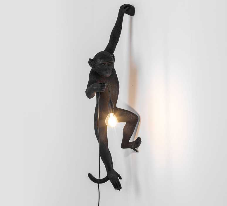 Monkey hanging marcantonio raimondi malerba seletti 14881 luminaire lighting design signed 34106 product