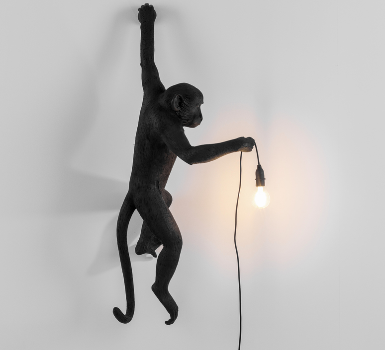 Monkey hanging marcantonio raimondi malerba seletti 14881 luminaire lighting design signed 34107 product