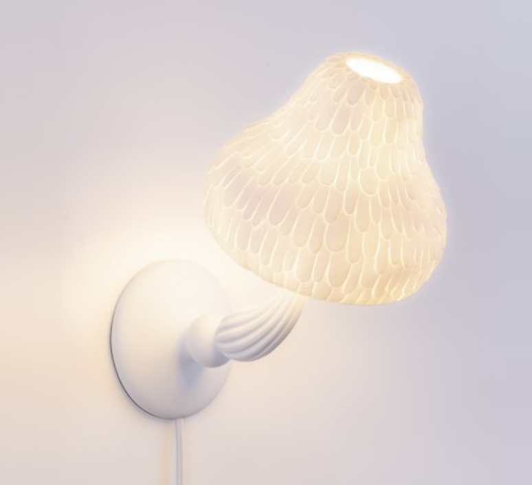 Mushroom lamp marcantonio raimondi malerba applique murale wall light  seletti 14650  design signed nedgis 68028 product