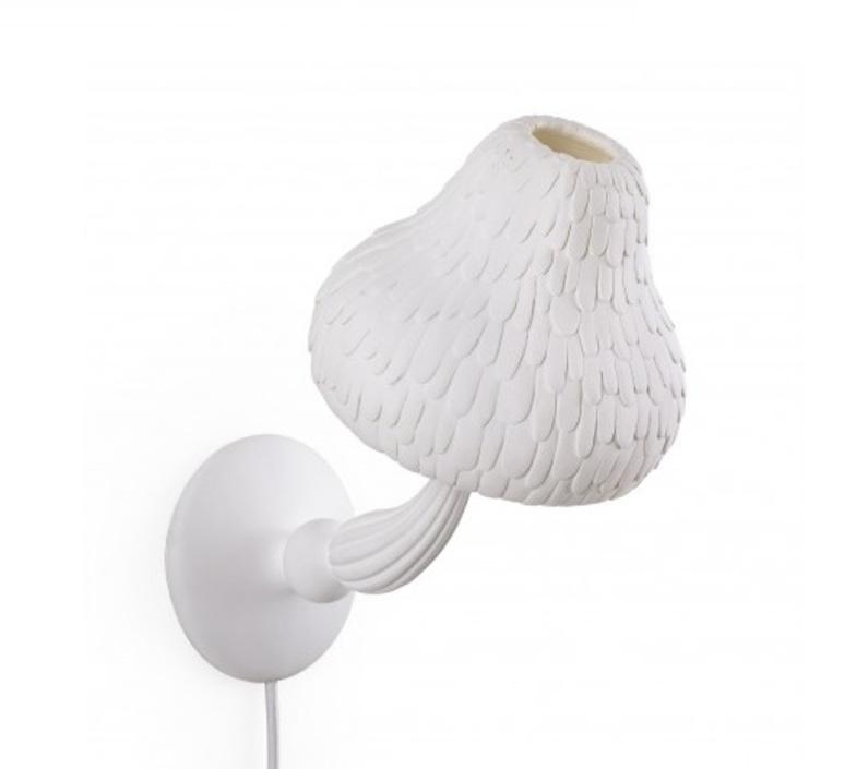 Mushroom lamp marcantonio raimondi malerba applique murale wall light  seletti 14650  design signed nedgis 68030 product
