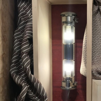 Applique murale musset gr argent l52cm h12 2cm sammode normal