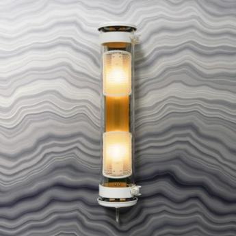 Applique murale musset gr laiton ip67 l51 9cm h12 3cm sammode normal
