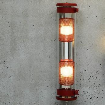 Applique murale musset gr rouge ip67 l51 9cm h12 3cm sammode normal