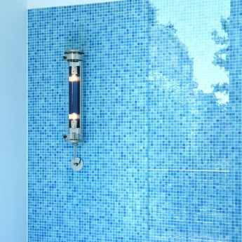 Applique murale musset petrol led o10cm h52cm sammode normal
