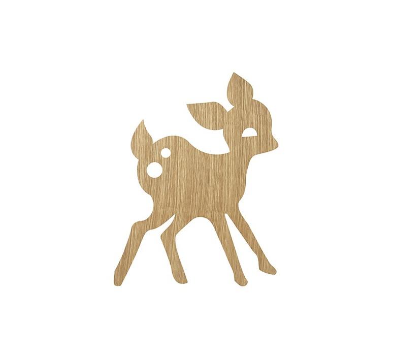 My deer lamp trine andersen applique murale wall light  ferm living 100150 208  design signed nedgis 64210 product