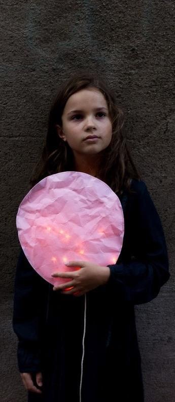 Applique murale natural pink lighting l rose o27cm h31cm ekaterina galera normal