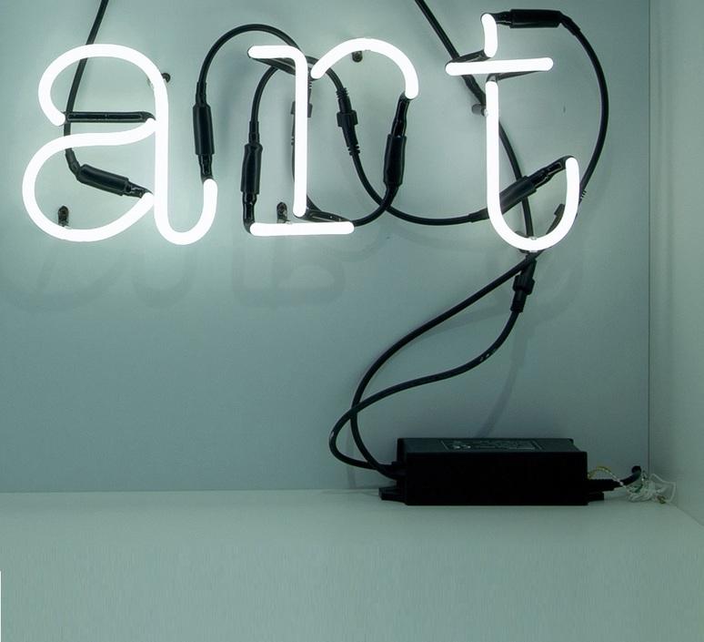 Applique murale neon art art transformateur noir - Applique neon design ...