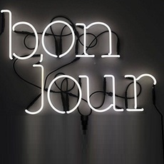 applique murale neon art bonjour transformateur blanc. Black Bedroom Furniture Sets. Home Design Ideas