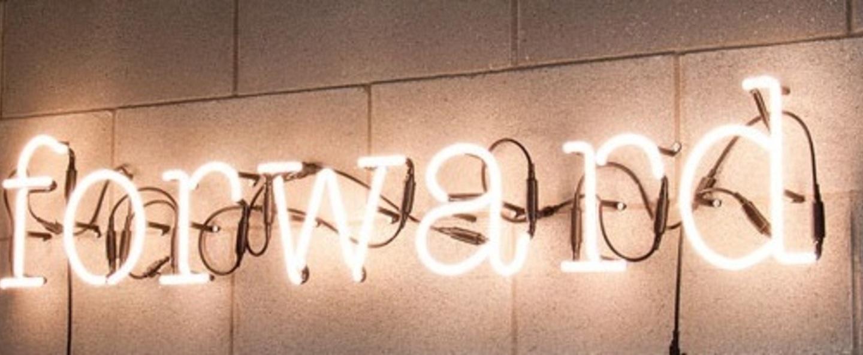 Applique murale neon art forward transformateur blanc brillant h17cm seletti normal