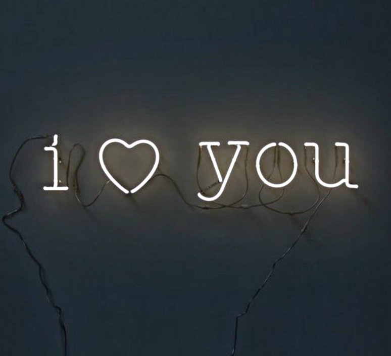 Neon art i love you transformateur selab seletti 01422 i cuo u 01423 luminaire lighting design signed 16292 product