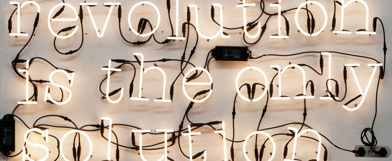 Applique murale neon art o transformateur blanc brillant h17cm seletti normal