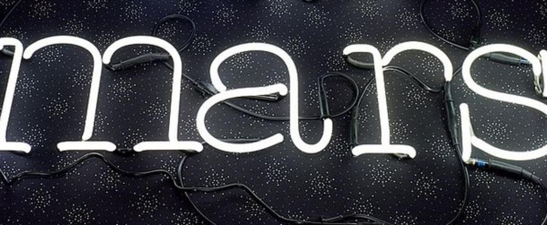 Applique murale neon art s transformateur blanc brillant h17cm seletti normal