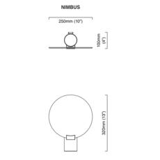Nimbus  applique murale wall light  cto lighting cto 07 080 0001  design signed 51275 thumb