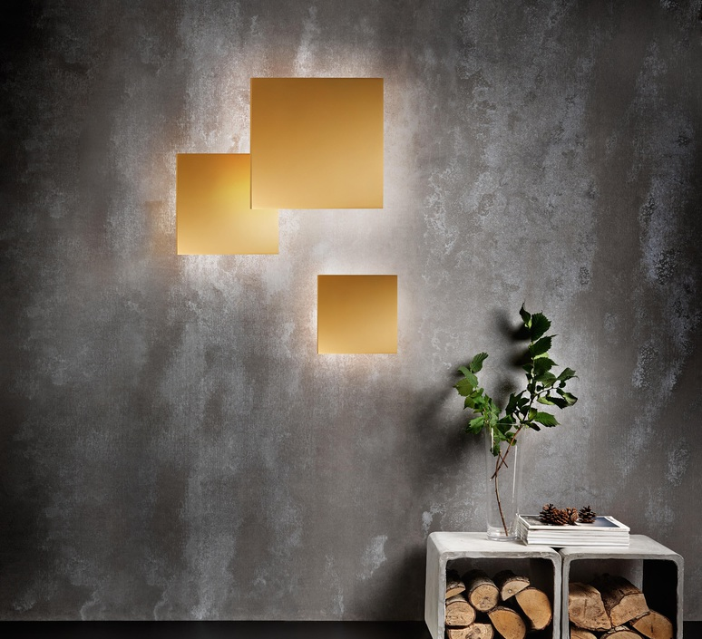 Noho w3 ronni gol applique murale wall light  light point 256411  design signed 41211 product