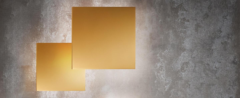 Applique murale noho w5 or led o50cm h50cm light point normal