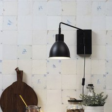 Nottingham studio it s about romi applique murale wall light  it s about romi nottingham w b  design signed 48071 thumb