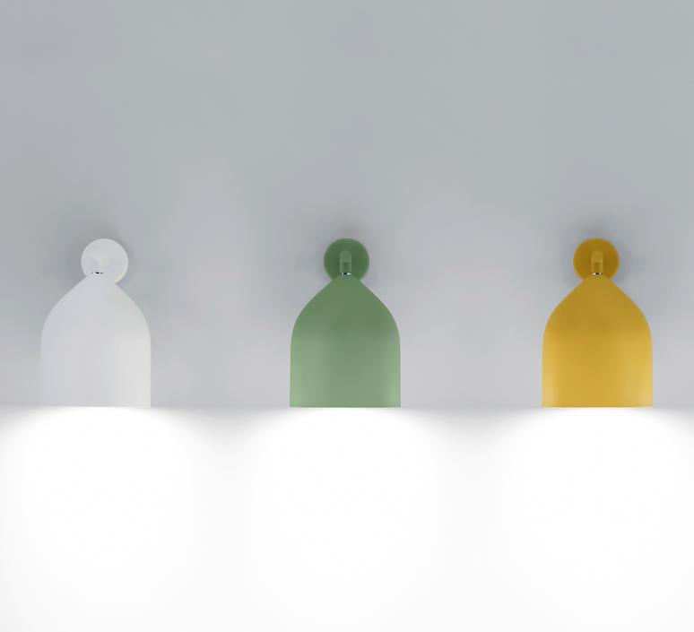 Odile paolo cappello applique murale wall light  lumen center italia odi21105  design signed 52584 product