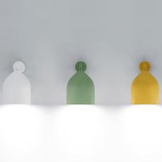 Odile paolo cappello applique murale wall light  lumen center italia odi21105  design signed 52584 thumb