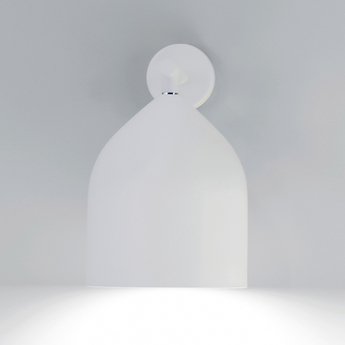 Applique murale odile blanc o20cm h25 8cm lumen center italia normal