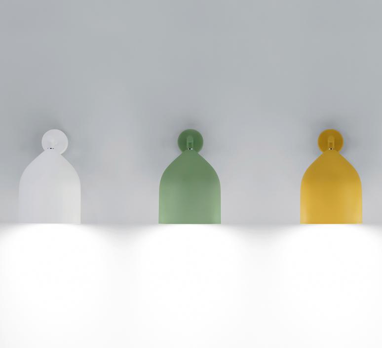 Odile paolo cappello applique murale wall light  lumen center italia odi21126  design signed 52594 product