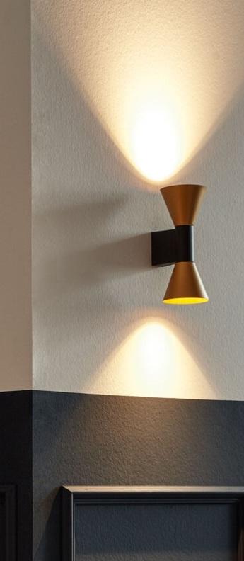 Applique murale odrey indoor wall surface 2 0 noir et or l10 5cm h4cm wever ducre 350db385 52ee 4160 98fe 223067c2057e normal