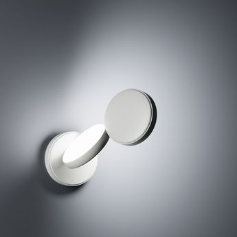 Applique murale optunia blanc led l22 3cm h26 2cm fontana arte normal