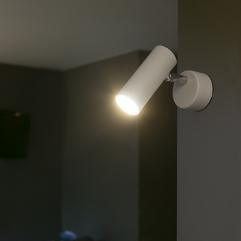 Applique murale ora led blanc 3000k 350lm h10cm o4cm faro normal