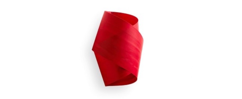 Applique murale orbit rouge h36cm lzf normal