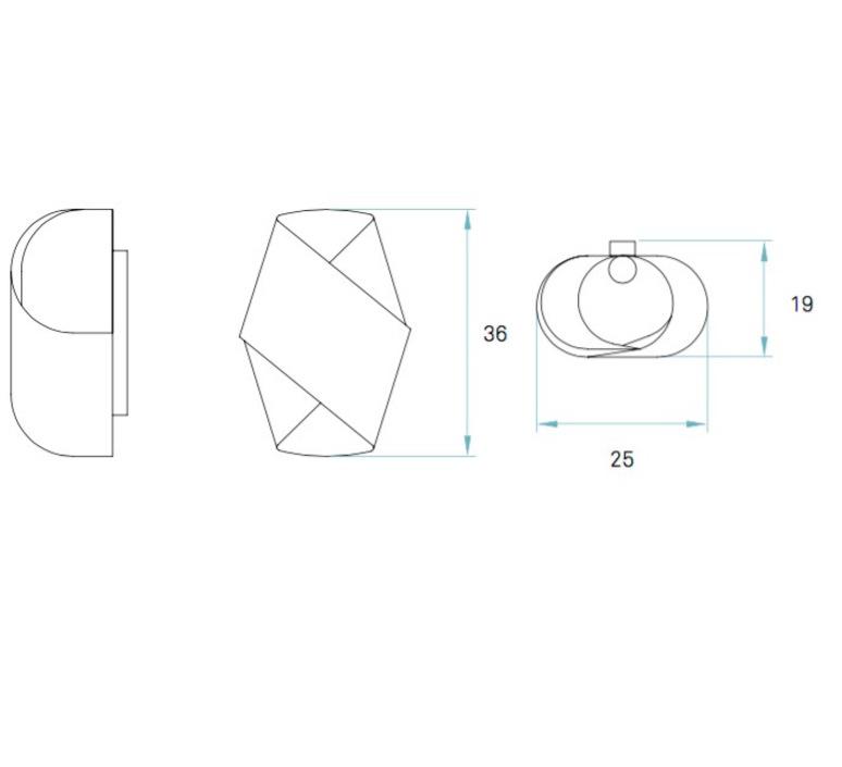 Orbit miguel herranz lzf orb a 26 luminaire lighting design signed 21898 product
