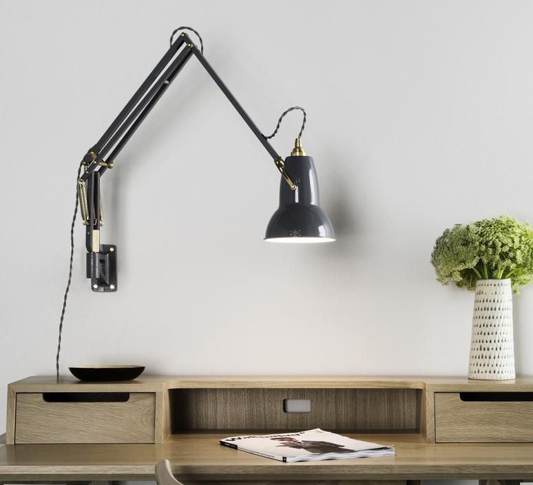 Original 1227 brass george carwardine anglepoise 31350 luminaire lighting design signed 26585 product