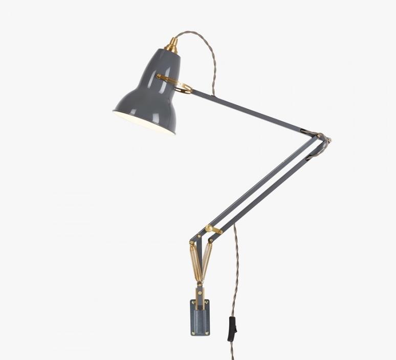 Original 1227 brass george carwardine anglepoise 31350 luminaire lighting design signed 26586 product